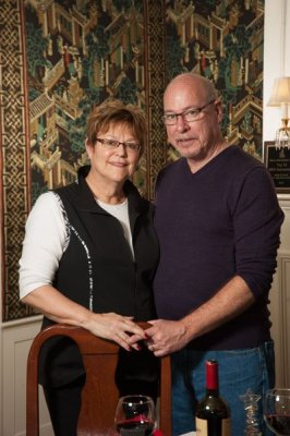 Innkeepers Cindy Foster and Tom LaPointe