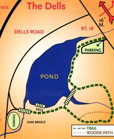 Map of the Dells