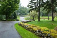 grounds at Adair Country Inn in Bethlehem, New Hampshire